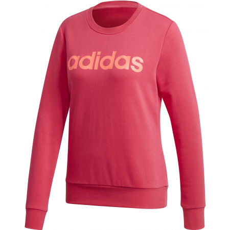 adidas ESSENTIALS LINEAR CREWNECK - Hanorac femei