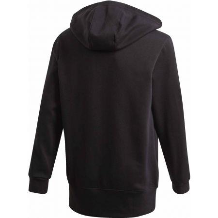Boys' hoodie - adidas YB LOGO HOODIE - 2