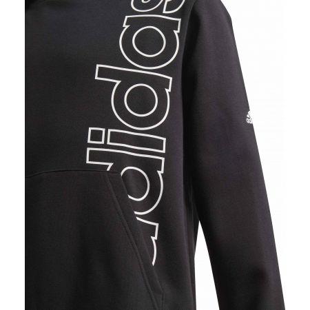 Boys' hoodie - adidas YB LOGO HOODIE - 3
