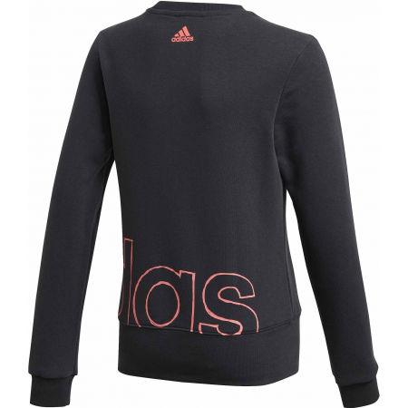 Lány pulóver - adidas YG LOGO CREW - 2