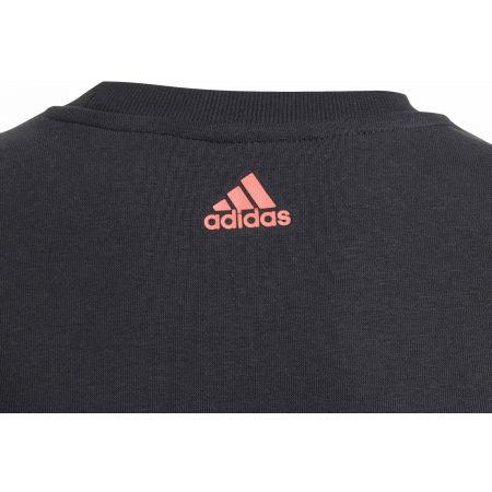 Lány pulóver - adidas YG LOGO CREW - 3