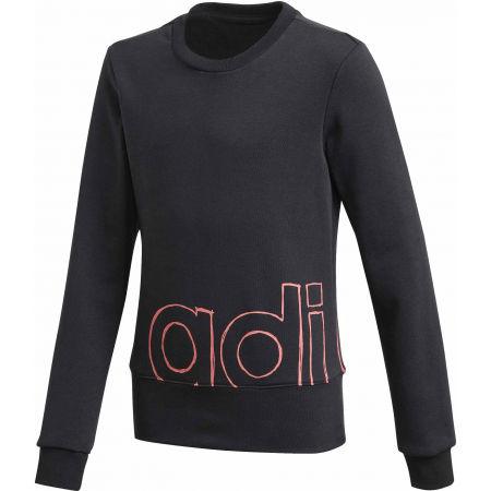 adidas YG LOGO CREW - Girls' sweatshirt