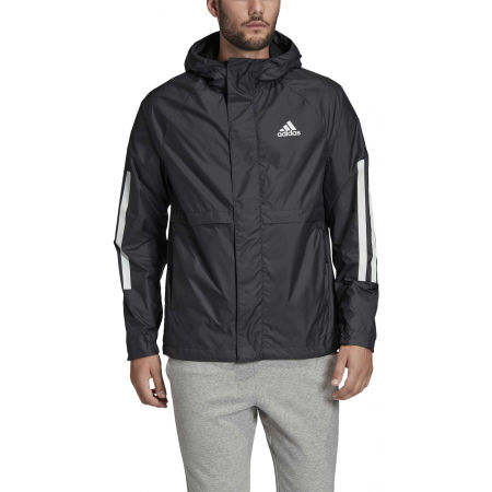 Men's windbreaker - adidas BSC 3S WIND JKT - 4