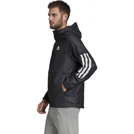Men's windbreaker - adidas BSC 3S WIND JKT - 5