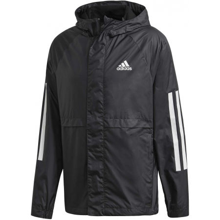 Men's windbreaker - adidas BSC 3S WIND JKT - 1