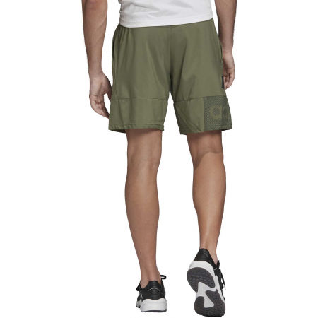 Men's shorts - adidas DESIGNED TO MOVE PRIMEBLUE BRANDED SHORT - 6
