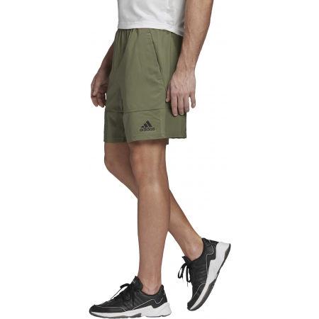 Pánske kraťasy - adidas DESIGNED TO MOVE PRIMEBLUE BRANDED SHORT - 4