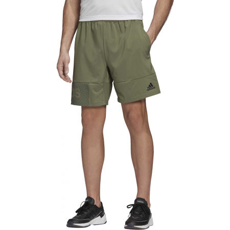 Men's shorts - adidas DESIGNED TO MOVE PRIMEBLUE BRANDED SHORT - 3