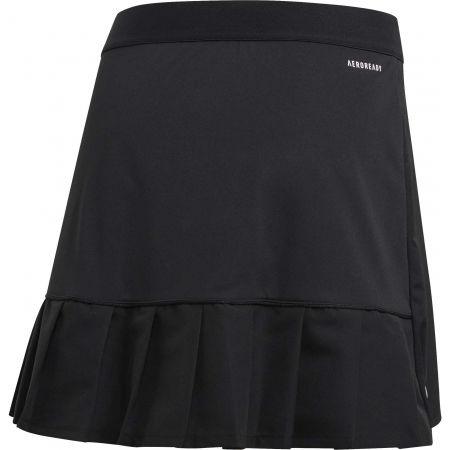 Women's sports skirt - adidas CLUB LONG SKIRT 16 INCH - 2