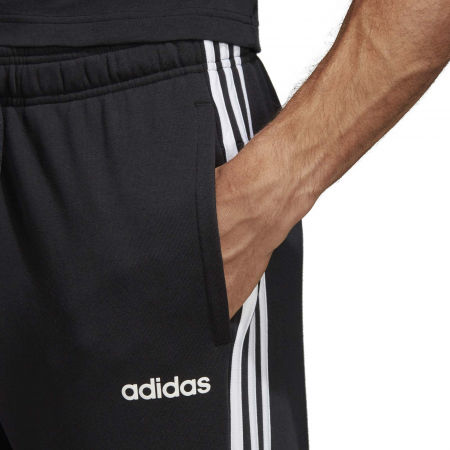 Men's sweatpants - adidas ESSENTIALS 3 STRIPES TAPERED PANT FRENCH - 8