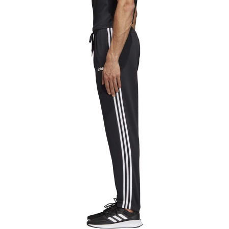 Men's sweatpants - adidas ESSENTIALS 3 STRIPES TAPERED PANT FRENCH - 4