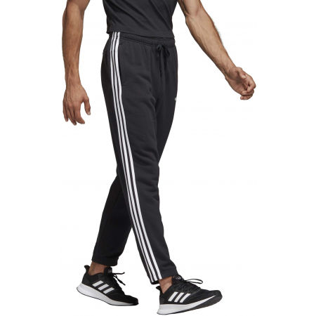 Men's sweatpants - adidas ESSENTIALS 3 STRIPES TAPERED PANT FRENCH - 5