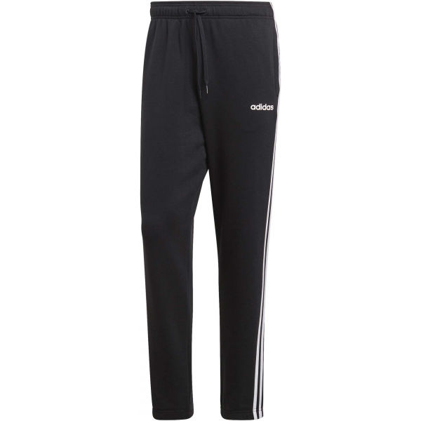 adidas ESSENTIALS 3 STRIPES TAPERED PANT FRENCH černá L - Pánské kalhoty