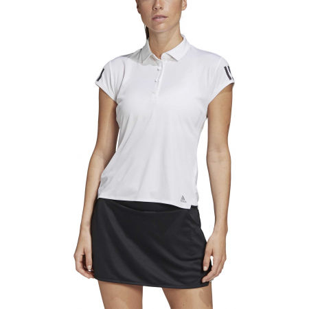 Women's tennis T-shirt - adidas CLUB 3 STRIPES POLO - 3