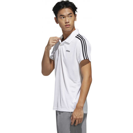 Men's polo shirt - adidas MENS D2M POLO - 5