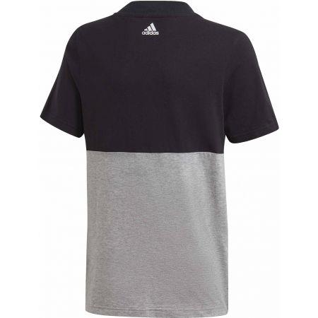 Chlapčenské tričko - adidas YOUNG BOYS LINEAR COLORBOCK T-SHIRT - 2