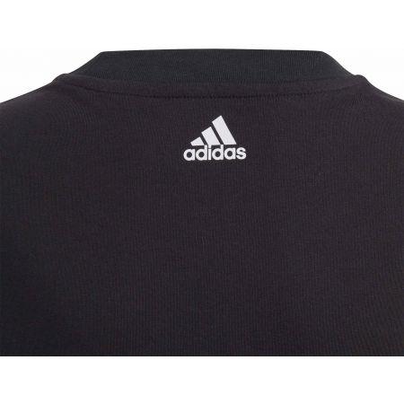 Chlapčenské tričko - adidas YOUNG BOYS LINEAR COLORBOCK T-SHIRT - 3