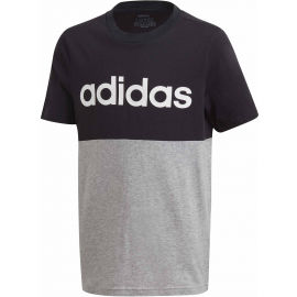adidas YOUNG BOYS LINEAR COLORBOCK T-SHIRT