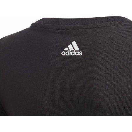 Tricou fete - adidas YG BADGE OF SPORT TEE - 4