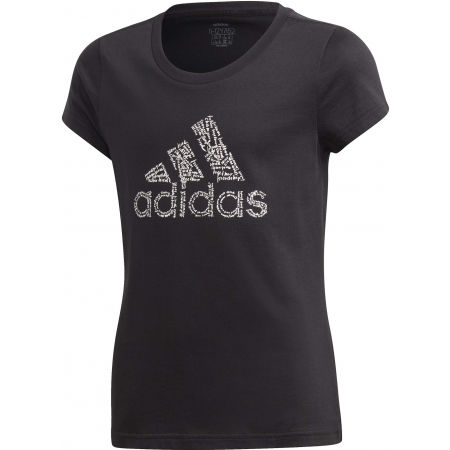 adidas YG BADGE OF SPORT TEE - Girls' T-shirt