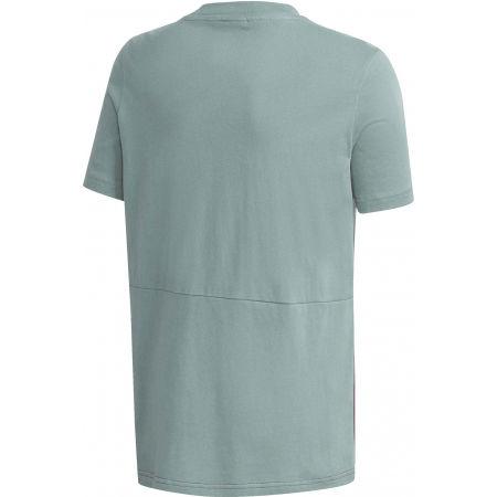 Jungen Sportshirt - adidas YB FAV AOP FZ TEE - 2