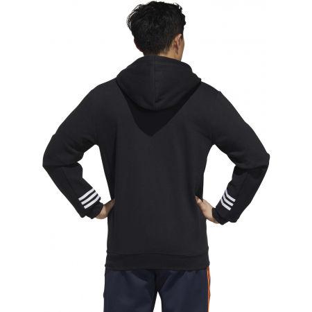 Herren Sweatshirt - adidas MENS ESSENTIALS COMFORT HOODED TRACKTOP - 7