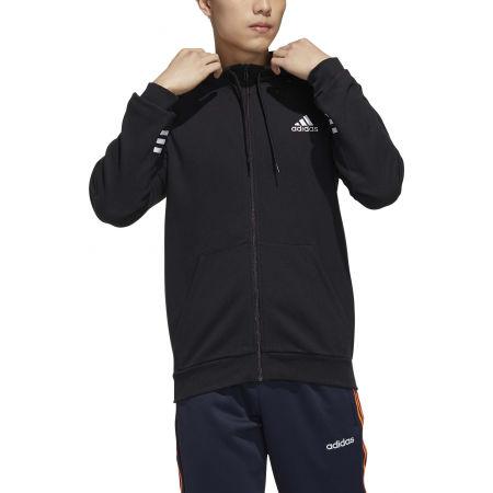 Herren Sweatshirt - adidas MENS ESSENTIALS COMFORT HOODED TRACKTOP - 3