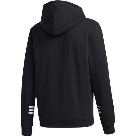 Herren Sweatshirt - adidas MENS ESSENTIALS COMFORT HOODED TRACKTOP - 2