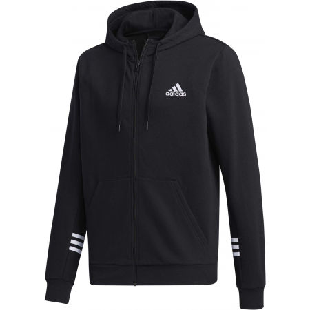 adidas MENS ESSENTIALS COMFORT HOODED TRACKTOP