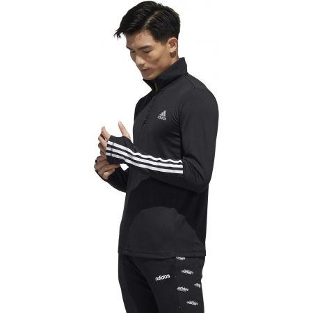 Men's training sweatshirt - adidas MENS INTUTIVE WARM 1/4 ZIP - 5