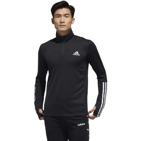 Men's training sweatshirt - adidas MENS INTUTIVE WARM 1/4 ZIP - 4