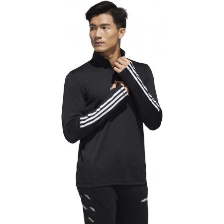 Men's training sweatshirt - adidas MENS INTUTIVE WARM 1/4 ZIP - 6