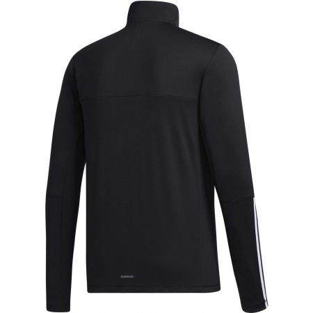 Men's training sweatshirt - adidas MENS INTUTIVE WARM 1/4 ZIP - 2