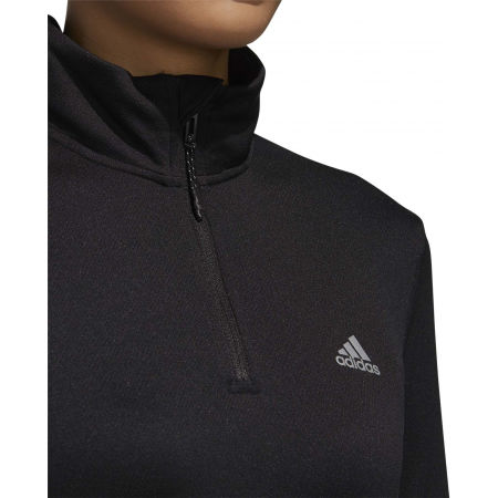 Damen Sweatshirt - adidas WOMEN INTUITIVE WARMTH 1/4 ZIP LONGSLEEVE - 8
