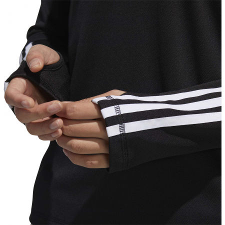 Női pulóver - adidas WOMEN INTUITIVE WARMTH 1/4 ZIP LONGSLEEVE - 9