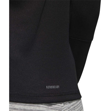 Női pulóver - adidas WOMEN INTUITIVE WARMTH 1/4 ZIP LONGSLEEVE - 10