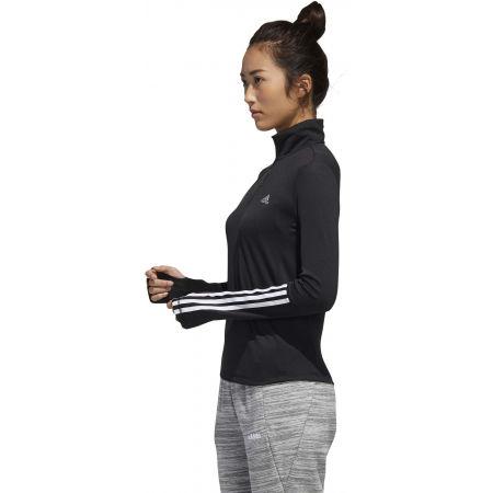 Damen Sweatshirt - adidas WOMEN INTUITIVE WARMTH 1/4 ZIP LONGSLEEVE - 5