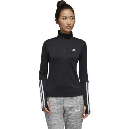 Damen Sweatshirt - adidas WOMEN INTUITIVE WARMTH 1/4 ZIP LONGSLEEVE - 4