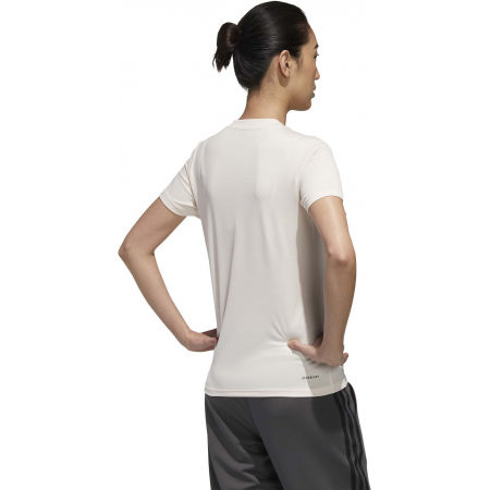 Women's sports T-shirt - adidas DESIGNED TO MOVE SOLID TEE - 7