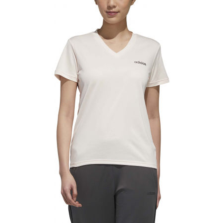 Women's sports T-shirt - adidas DESIGNED TO MOVE SOLID TEE - 3