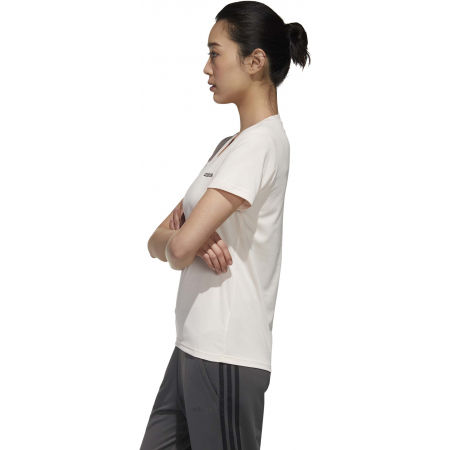 Women's sports T-shirt - adidas DESIGNED TO MOVE SOLID TEE - 5