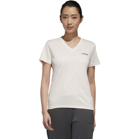 Women's sports T-shirt - adidas DESIGNED TO MOVE SOLID TEE - 4