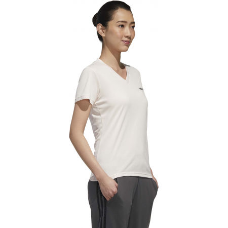 Women's sports T-shirt - adidas DESIGNED TO MOVE SOLID TEE - 6