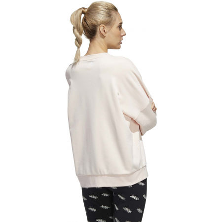 Hanorac femei - adidas WOMENS FAVOURITES BIG LOGO SWEATSHIRT - 7