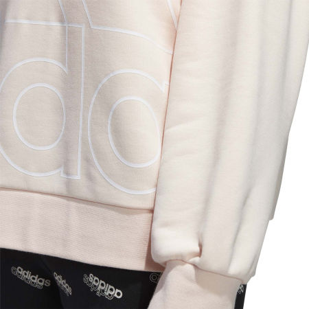 Hanorac femei - adidas WOMENS FAVOURITES BIG LOGO SWEATSHIRT - 8