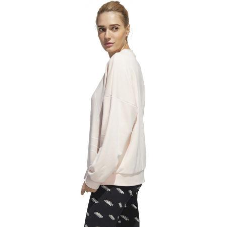 Hanorac femei - adidas WOMENS FAVOURITES BIG LOGO SWEATSHIRT - 6