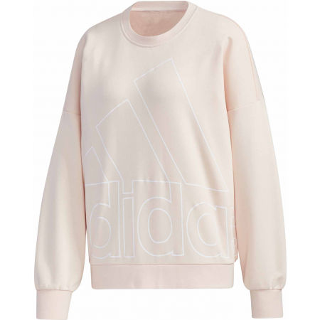 adidas WOMENS FAVOURITES BIG LOGO SWEATSHIRT - Дамски суитшърт