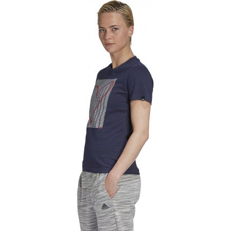 Dámske tričko - adidas W ADI HEART T - 5