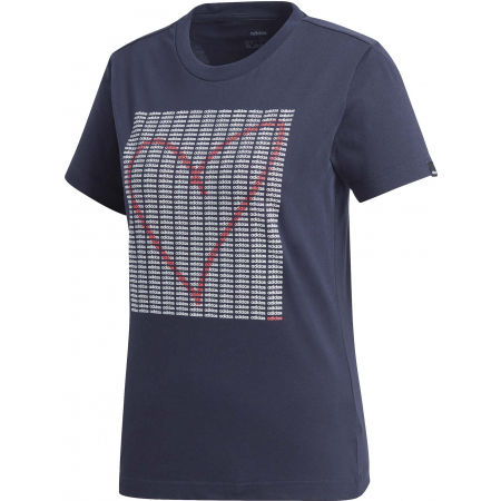 adidas W ADI HEART T - Women's T-shirt
