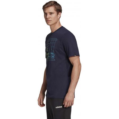 Men's T-Shirt - adidas RTRMD LG T - 5